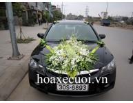 HOA XE CƯỚI MS 063