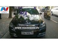 HOA XE CƯỚI MS 014