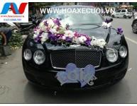 HOA XE CƯỚI MS 024