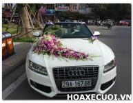HOA XE CƯỚI MS 089