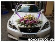 HOA XE CƯỚI MS 093