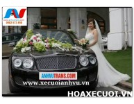 HOA XE CƯỚI MS 119